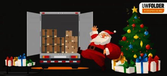 Verspreid hier uw kerstfolder